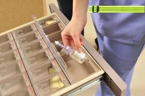 Nurses must now wear reflective belts