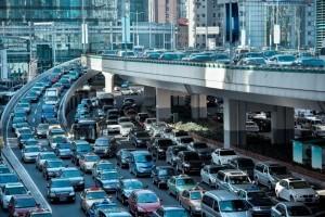 traffic jam outside of operating room