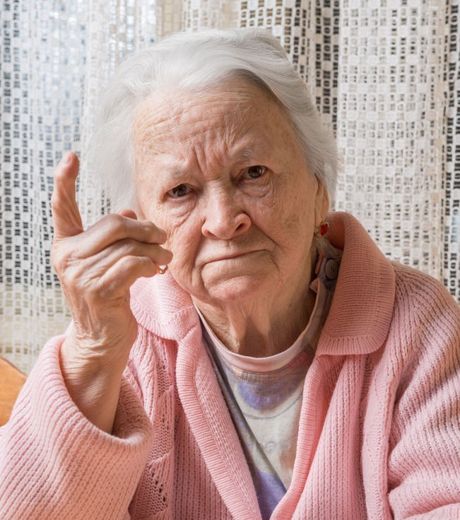 sweet little old lady has impressive vocabulary of profanity | gomerblog