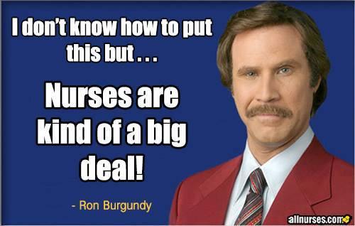 nurses are a big deal