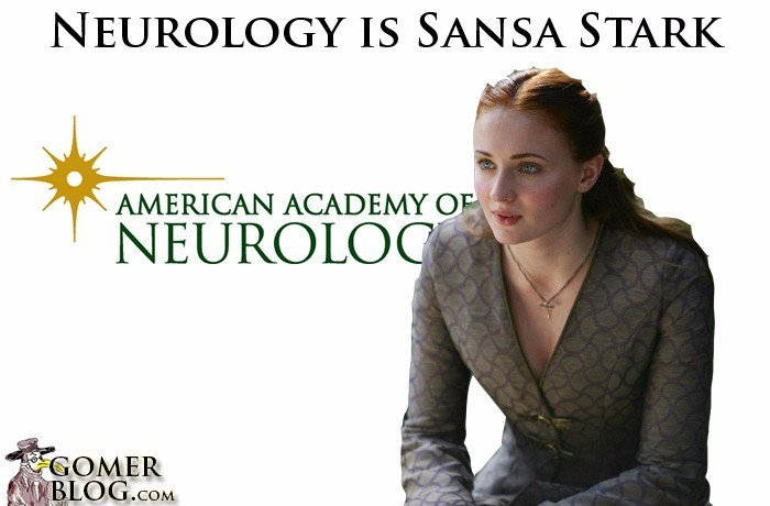Neurology [Sansa] – You are not the most practical person to have around, but we're sure you're lovely.