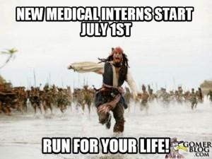 new medical interns