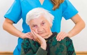 older patient sundowning