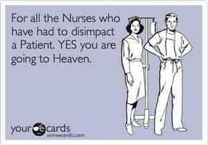 Nurses disimpact