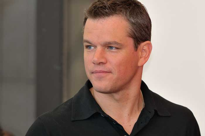 hollywood good guy matt damon opens up about ebv positivity gomerblog