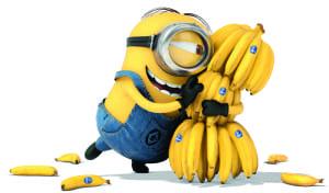 Funny-Minions-with-Banana-Wallpaper