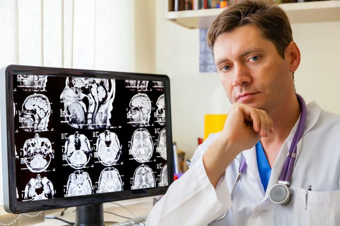 Bored Radiologist Clinically Correlates Everything Himself