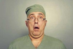 confused surgeon