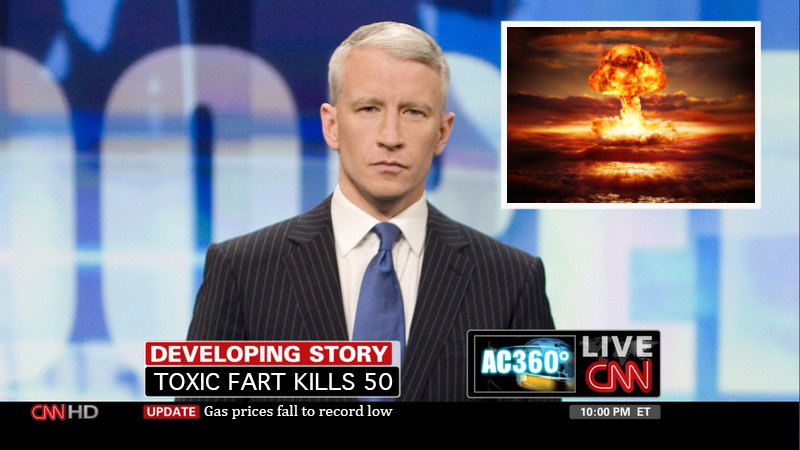 fart, CNN, Anderson Cooper
