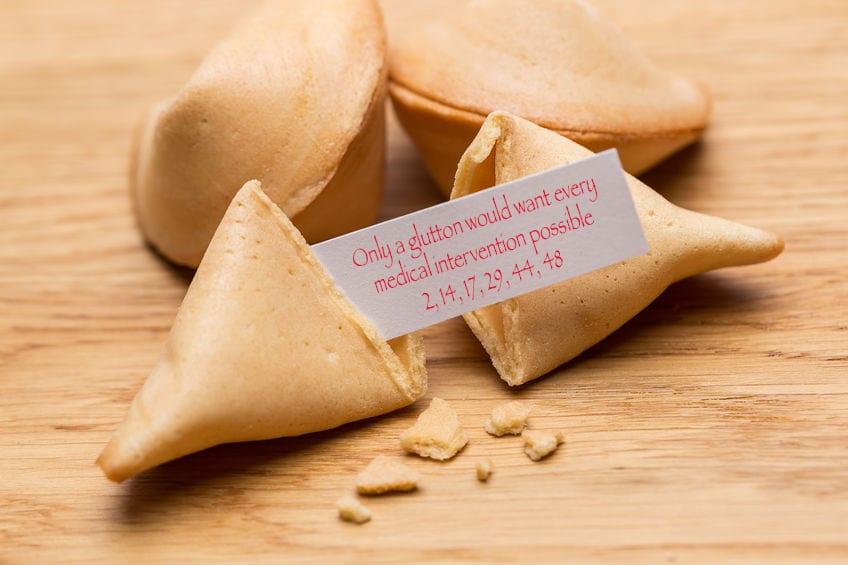 palliative care, fortune cookies