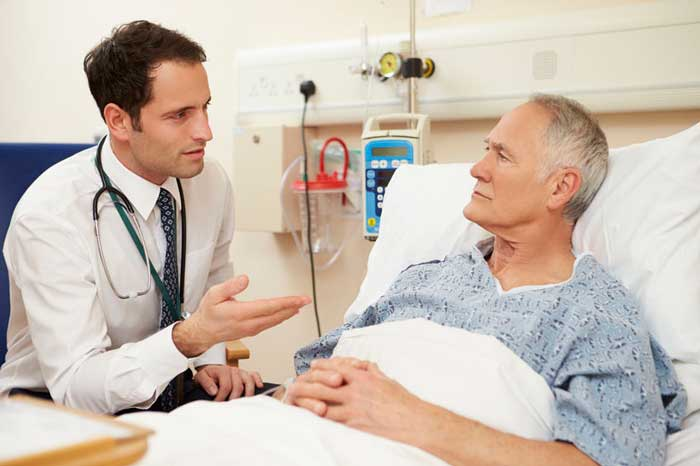 breaking patient states his medical history should all be in the