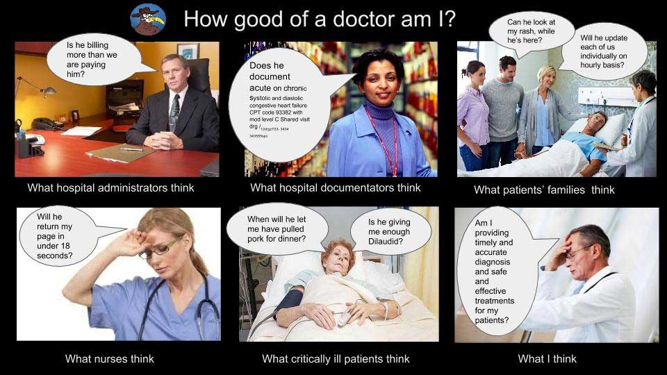 how good of a doctor am I