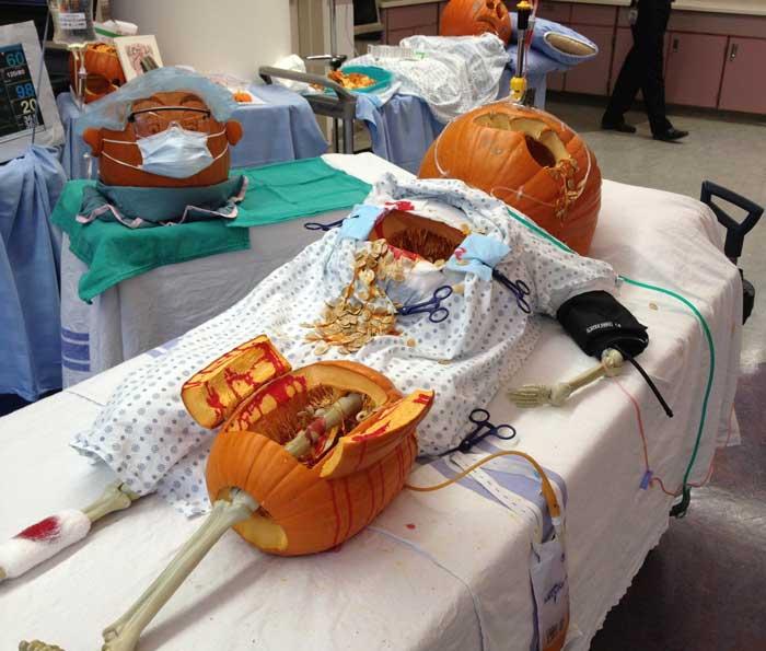 trauma pumpkin