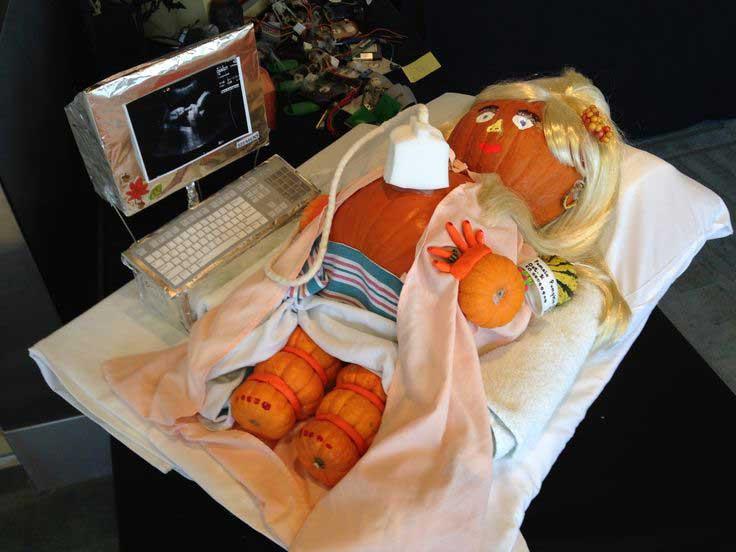 ultrasound pumpkin