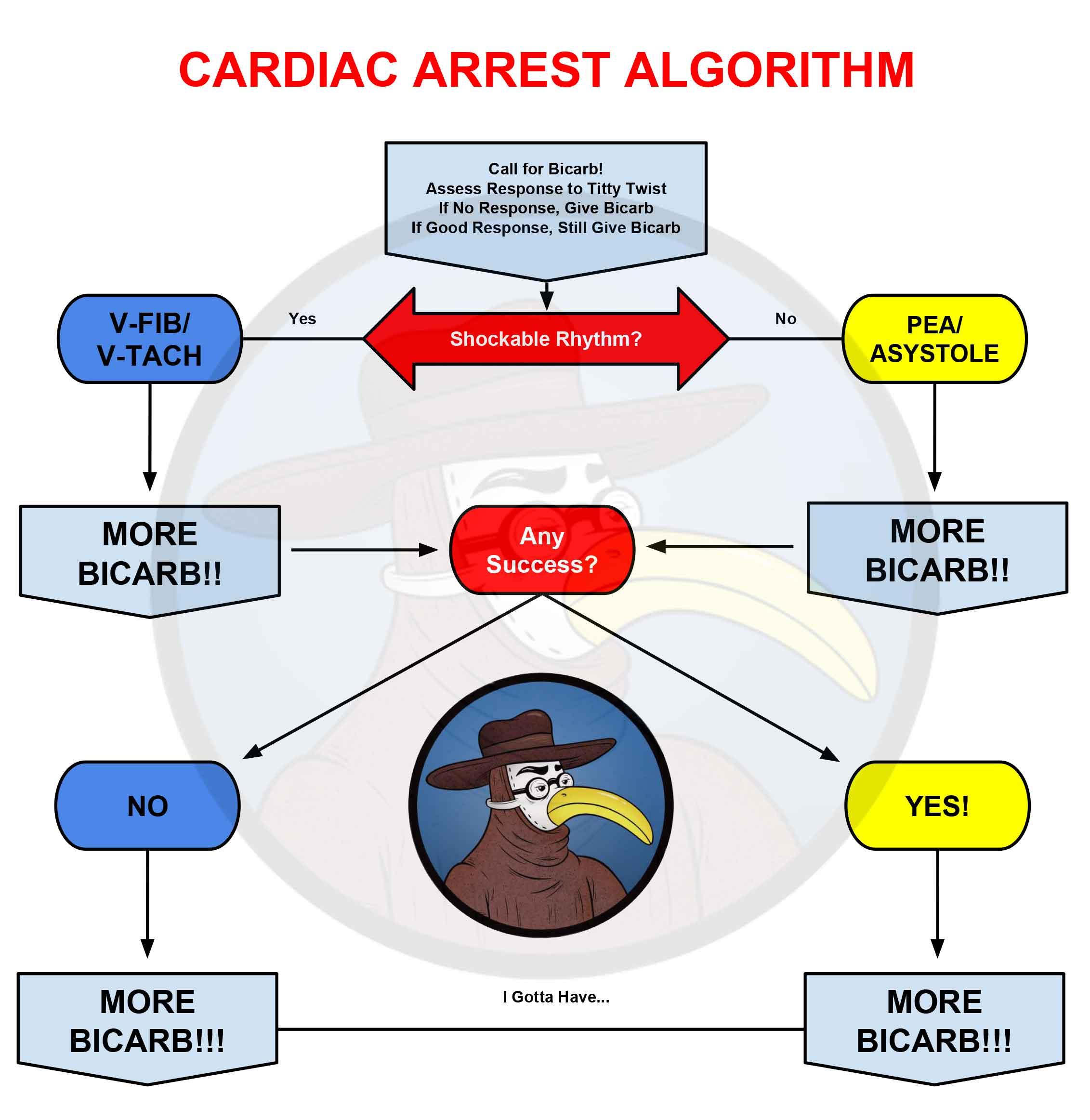 bicarb bicarb-only bicarbonate cardiac arrest CPR ACLS