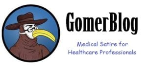 Gomerblog Medical Satire Logo