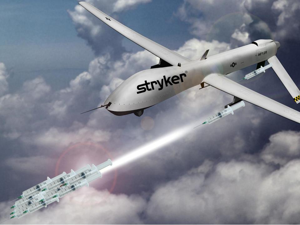 Stryker drone strike