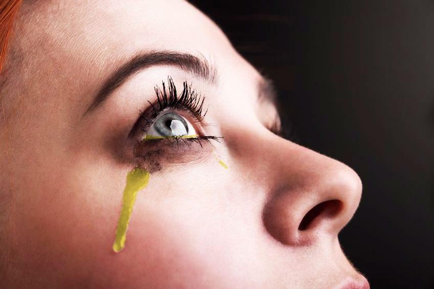urine urinating eyeballs Lasix