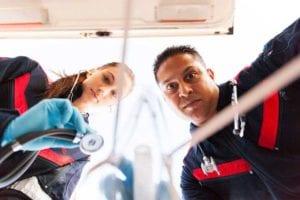 paramedics in er