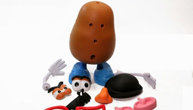 ophtho emergently consulted to reattach mr potato head s eyes