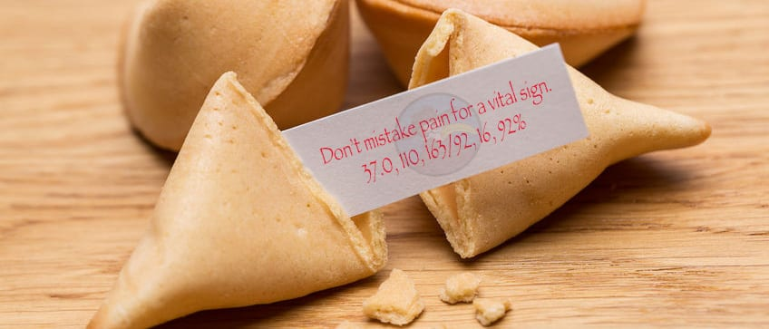 fortune cookie vital signs