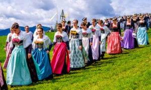 nursemaids marching
