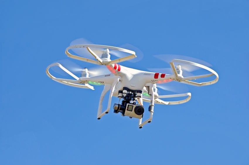 drone Santa hospitalized