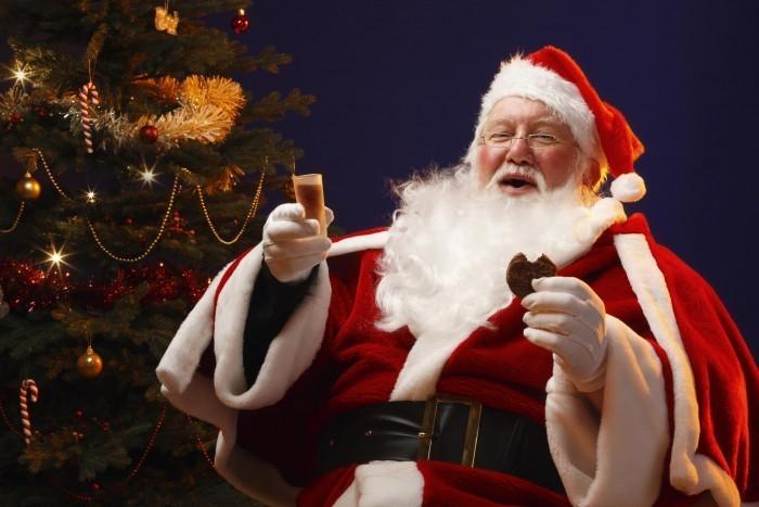 Santa Claus Aspirates Milk Cookies After Ignoring Npo Guidelines
