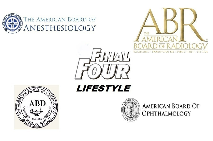 Road to the Final Four Best Lifestyle Medical Specialties