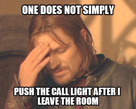 nurses call light