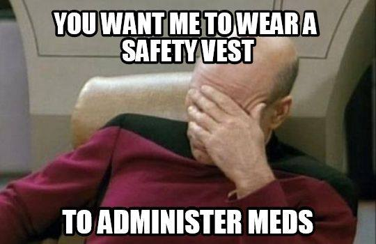 safety vest for nurses
