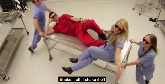 """Shake It Off"" – University of Utah School of Medicine Parody Video"