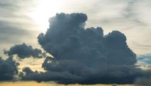 black cloud white cloud meteorologists