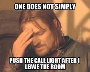 Nursing call light