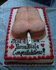 Nursing temperature cake
