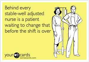 Nurses crazy patient