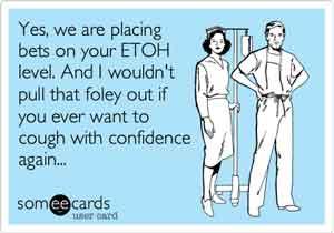 Nurses etoh foley