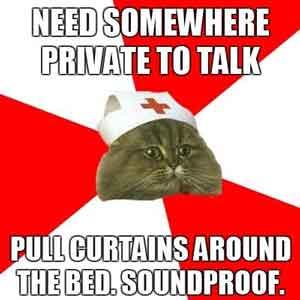 Nursing curtain for room
