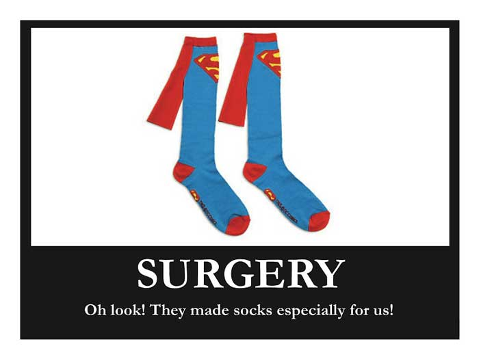What Your Socks Look Like By Medical Specialty Gomerblog
