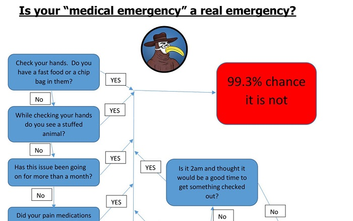 Is Your Medical Emergency Really An Emergency Gomerblog