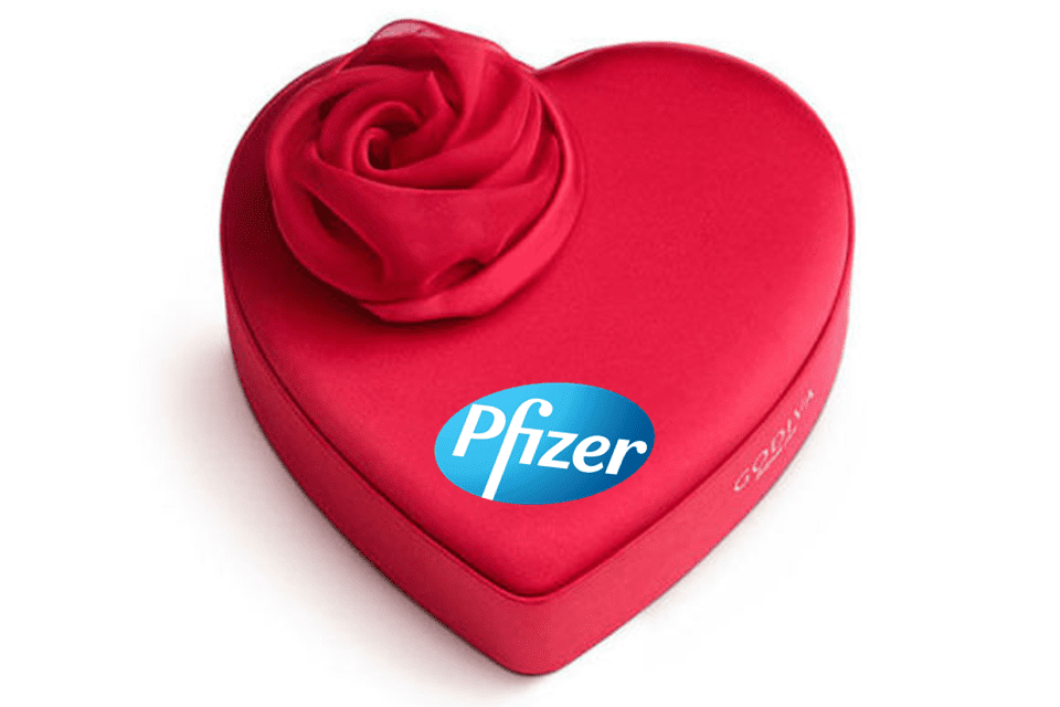 Pfizer Releases Box of Assorted Medications for Valentine's Day