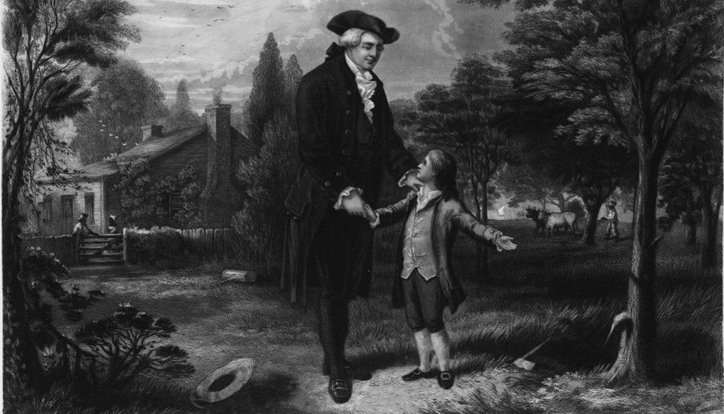 George Washington: 'I Cannot Tell a Lie… Anesthesia Cut Down the ...