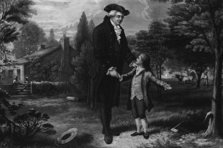 George Washington: 'I Cannot Tell a Lie… Anesthesia Cut Down ...