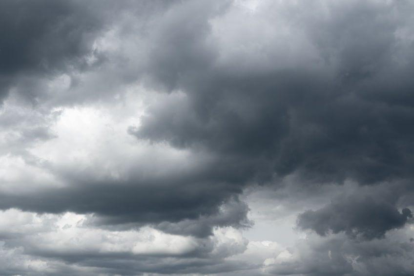 Black Cloud Begs On-Call Meteorologist for Help