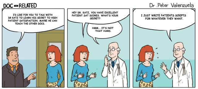 Doc-Related Comic Strips | GomerBlog