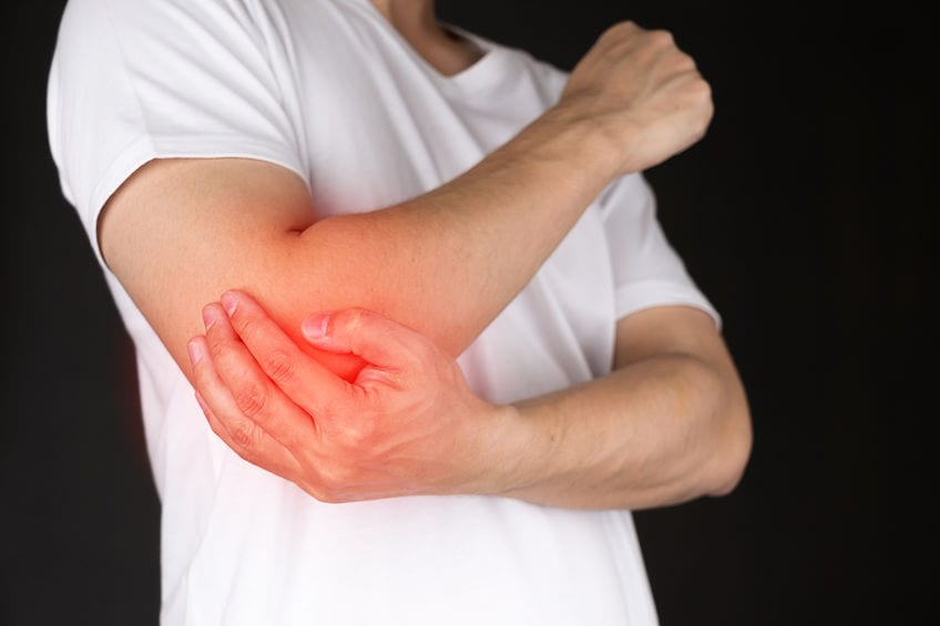 """Epidemic of """"Tennis Elbow"""" Hits Radiologists Everywhere"""