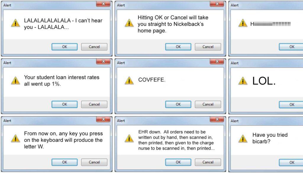 EHR Alerts Reach New Level of Annoying
