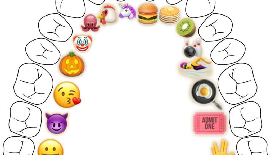 Breaking: Tooth Numbers Replaced By Emojis
