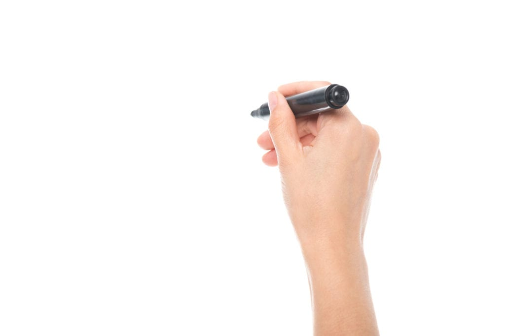 Breaking: Rare Black Marker Spotted in Proximity of Patient White Board