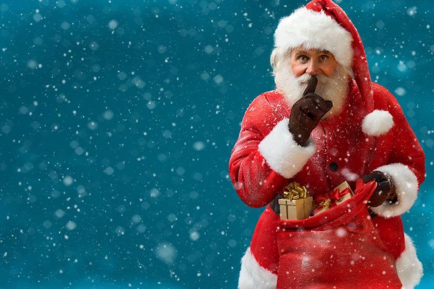 Santa Just Giving Everyone Influenza B for Christmas